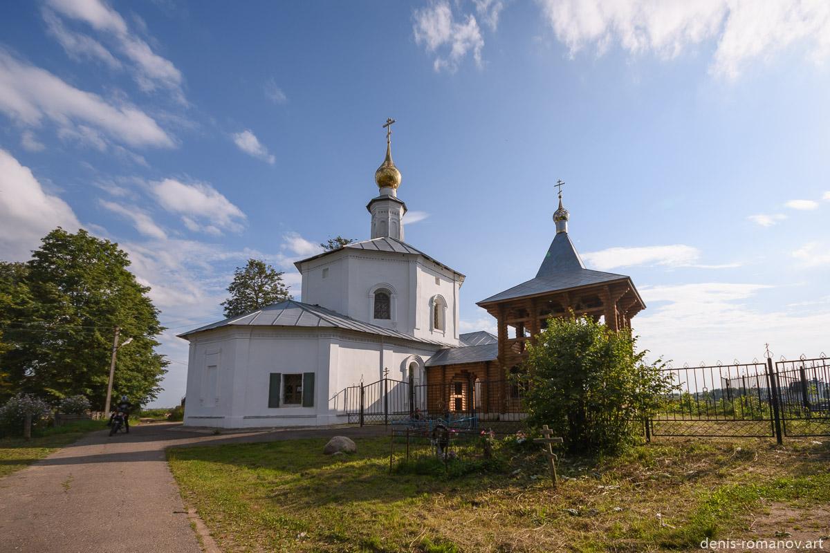 Вид на храм с востока