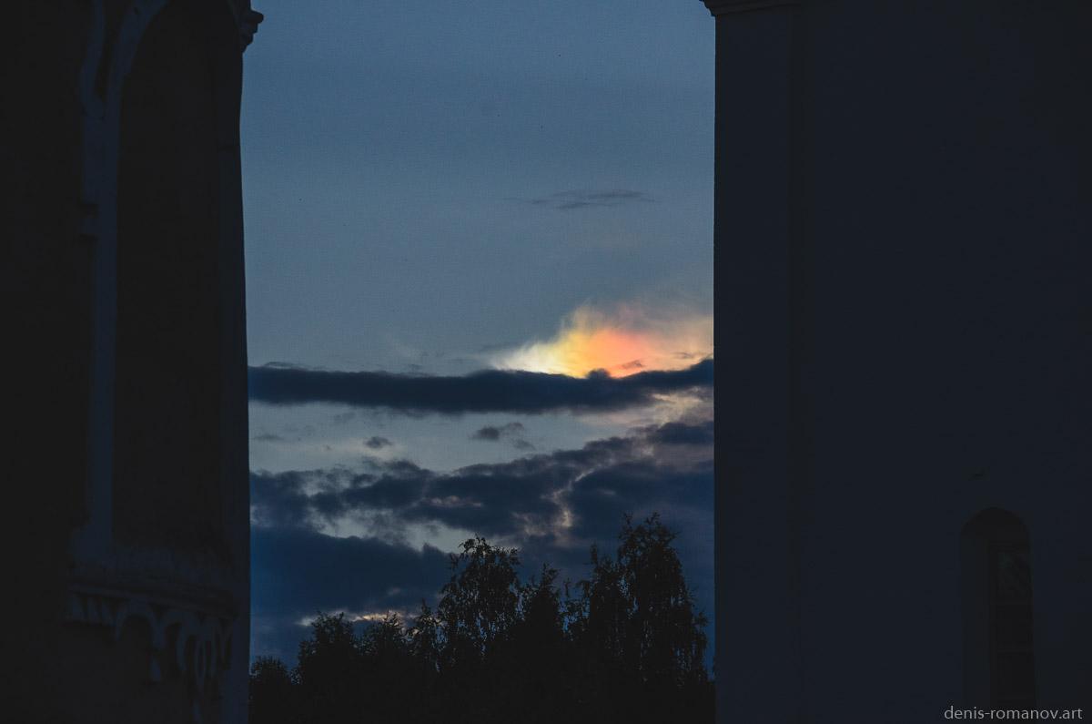 Гало на облаке