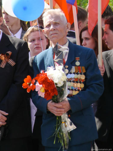 День Победы 2009. Климовск