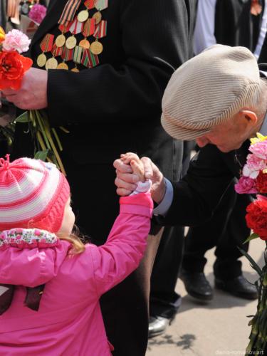 День Победы 2011. Климовск